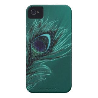 Cajas elegantes de Blackberry del verde de la Case-Mate iPhone 4 Cobertura