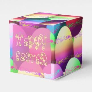 Cajas felices coloridas del favor de fiesta de los cajas para regalos