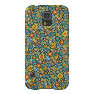 Cajas florales de la galaxia S5 de Samsung del est Fundas De Galaxy S5