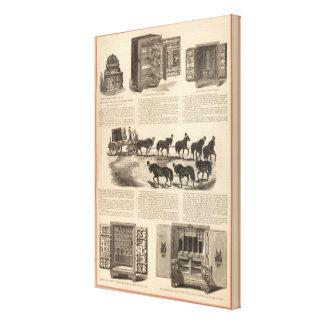Cajas fuertes del campeón de la patente del arenqu impresión en lona