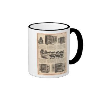 Cajas fuertes del campeón de la patente del arenqu taza de café