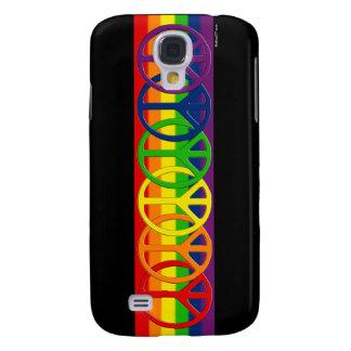 Cajas gay de la galaxia S4 de Samsung de la paz de Samsung Galaxy S4 Cover