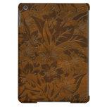 Cajas hawaianas de madera del aire del iPad de la
