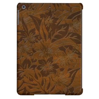 Cajas hawaianas de madera del aire del iPad de la Funda Para iPad Air