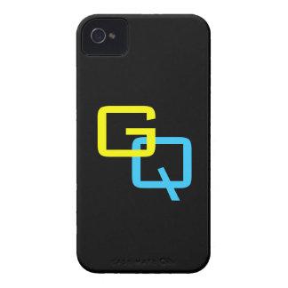 Cajas intrépidas de Blackberry del ~ del monograma iPhone 4 Cobertura