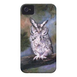 Cajas intrépidas de la zarzamora del búho de iPhone 4 Case-Mate cárcasa
