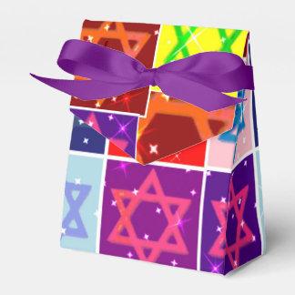 Cajas judías del favor de la celebración de días cajas para regalos de boda