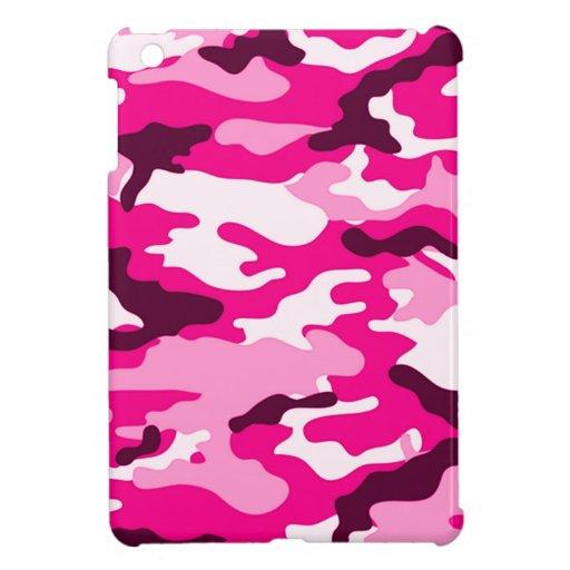 Cajas listas rosadas del camuflaje el | Ipad mini