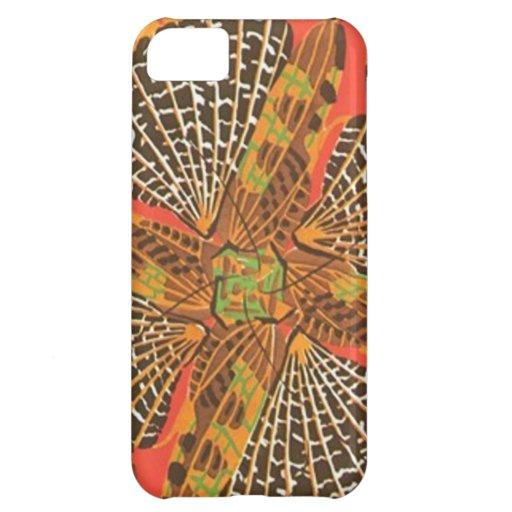Cajas magníficas del teléfono del art déco del ext funda para iPhone 5C