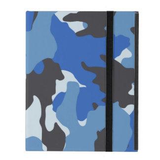 Cajas militares azules de encargo del iPad del iCa iPad Carcasas