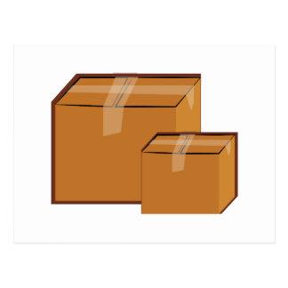Cajas móviles postal