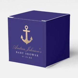 Cajas náuticas del favor de la fiesta de caja para regalos