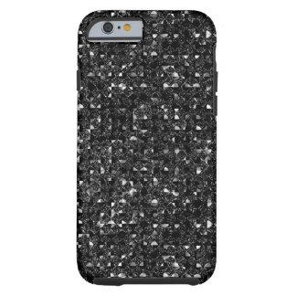 Cajas negras del teléfono del efecto de la funda de iPhone 6 tough