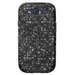 Cajas negras del teléfono del efecto de la lenteju galaxy SIII carcasa