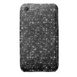 Cajas negras del teléfono del efecto de la lenteju iPhone 3 Case-Mate protector