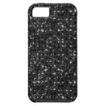 Cajas negras del teléfono del efecto de la lenteju iPhone 5 Case-Mate coberturas