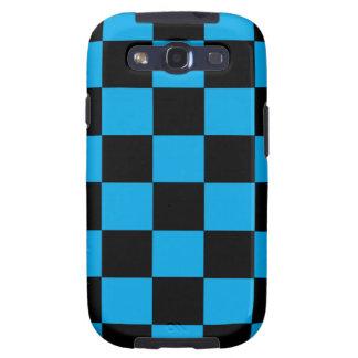 Cajas negras y azules de la Galaxia-SIII de los Samsung Galaxy S3 Carcasa