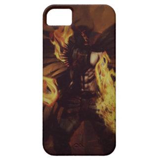 Cajas oscuras del ángel iPhone 5 carcasa