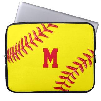 Cajas personalizadas del béisbol para el ordenador fundas portátiles