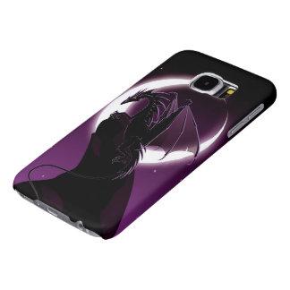 Cajas púrpuras de la galaxia S6 de Samsung del Fundas Samsung Galaxy S6