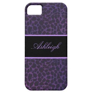 Cajas púrpuras del iPhone 5s de la identificación  iPhone 5 Cárcasas