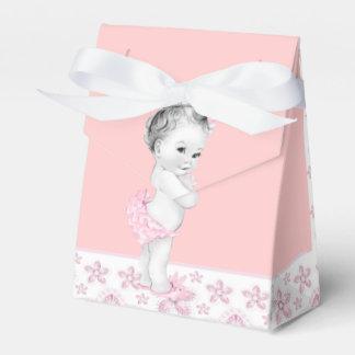 Cajas rosadas adorables del favor de la fiesta de cajas para regalos de boda