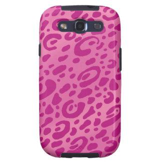 Cajas rosadas de la galaxia SIII del estampado Samsung Galaxy SIII Funda