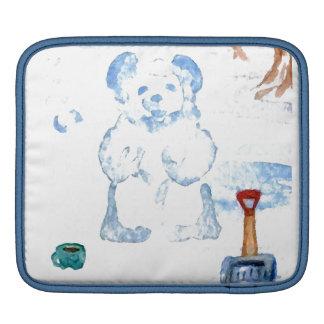 Cajas suaves de la manga del iPad del oso de la ni Mangas De iPad