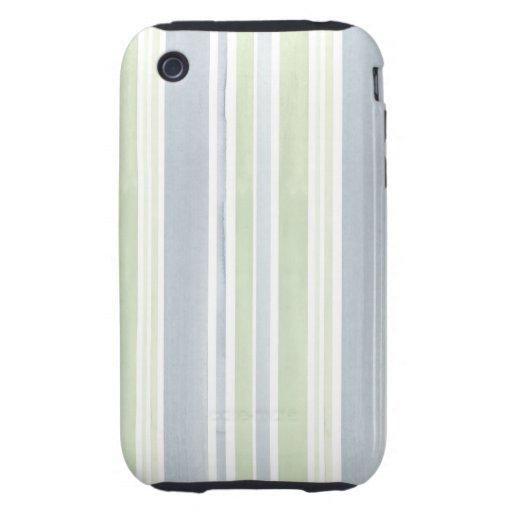Cajas universales rayadas del teléfono tough iPhone 3 cobertura