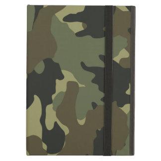 Cajas verdes de color caqui militares del aire del
