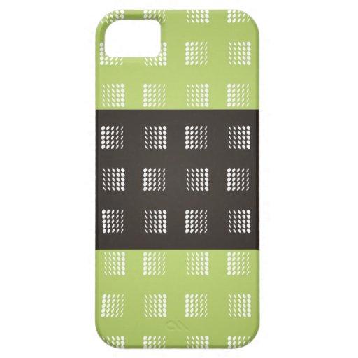 Cajas verdes de Iphone 5s de las tripas del modelo iPhone 5 Case-Mate Coberturas