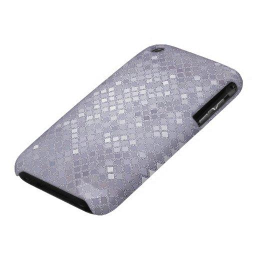 Cajas violadas claras del teléfono del efecto de funda para iPhone 3