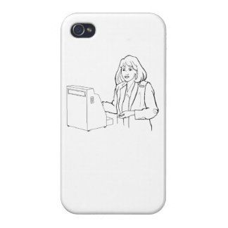 Cajero iPhone 4 Cárcasa