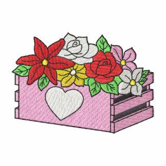 Cajón con las flores