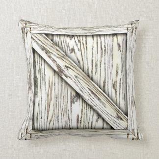 Cajón de la abrazo - madera blanca almohadas