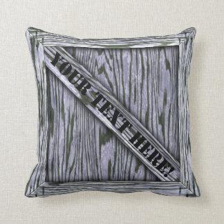 Cajón de la abrazo - madera de la lavanda - con el almohada