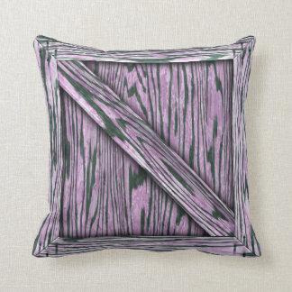 Cajón de la abrazo - madera rosada cojines