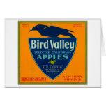 Cajón LabelWatsonville, CA de Apple del valle del  Tarjeta De Felicitación