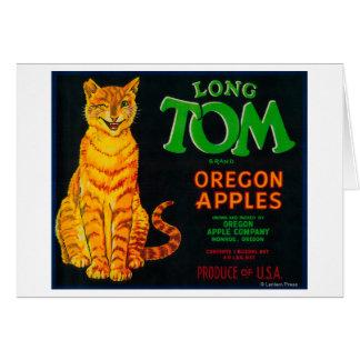Cajón largo LabelMonroe de Tom Apple, O Tarjeta De Felicitación
