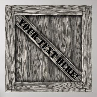 Cajón - poster - Driftwood