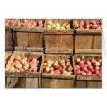 Cajones de Apple Tarjeta De Felicitación