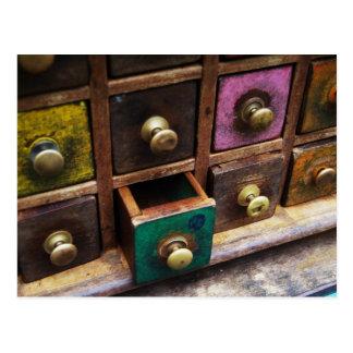 Cajones de la especia postal