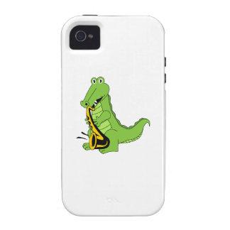 CAJUN ALLIGATOR Case-Mate iPhone 4 COVERS