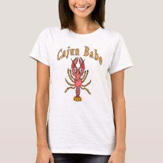 Cajun Babe Pink Crawfish T-Shirt