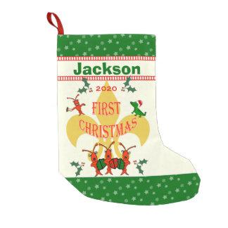 Cajun Baby First Christmas Small Christmas Stocking