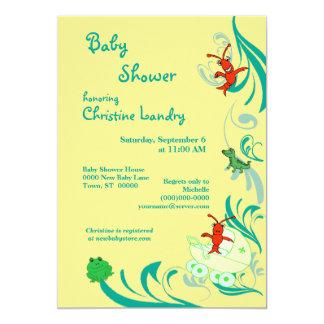 Cajun Baby Shower Gender Neutral Card