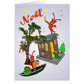 Cajun Bayou Christmas Card