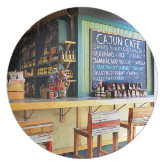 Cajun Cafe New Orleans French Quarter  Plate