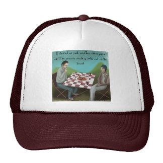 Cajun Chess Funny Cartoon Trucker Hat