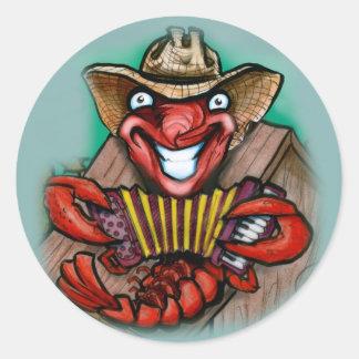 Cajun Classic Round Sticker